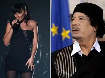 Las celebridades que cantaron a los Gadafi