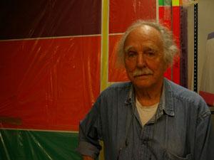 El pintor Waldo Balart en Madrid