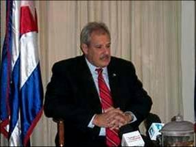 Alexis Bandrich, embajador de Cuba en Republica Dominicana.