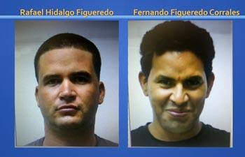 Rafael Hidalgo y Fernando Figueredo, cubanos que escaparon de un centro de inmigración en Islas Caimán