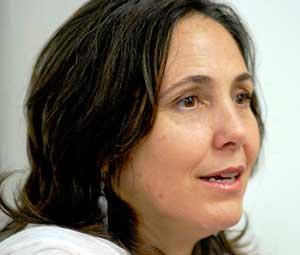 Mariela Castro durante su visita a Nueva York en mayo de 2012