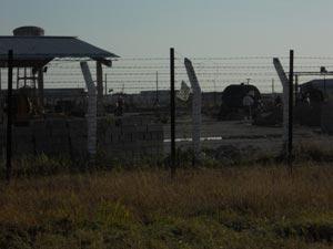 Presos comunes en bloquera de la prisión de Melena del Sur