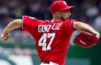 Gio González, en la cima de las Grandes Ligas.