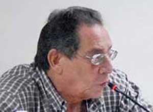 El comentarista deportivo Hector Rodriguez (1946-2012)