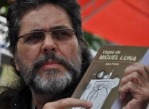 Abel Prieto presenta su novela Viajes de Miguel Luna en La Habana.