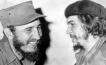 Nuetro Máximo Cheche y el Che Guevara, la yunta perfecta para el sometimiento cubano.