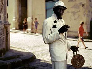 Dandy en La Habana Vieja