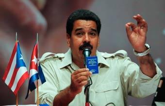Nicolás Maduro, presidente de Venezuela y vexilólogo latinoamericano.