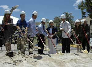 Ceremonia de iniciación de la obra en el 2007: ¿el proyecto del siglo en Miami?