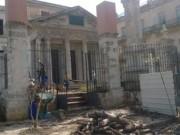 El Templete de La Habana se queda sin su tradicional ceiba a causa del comején