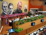 Rostros del altar político: De Marx a Fidel Castro en los congresos del Partido