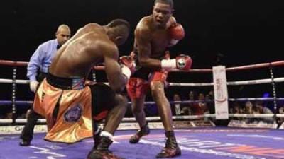 Boxeador cubano Yunier Dorticós conquista París