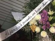 En la despedida de Alejandro Barrios: Palabras con amor de padre