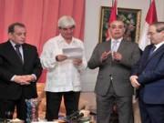 Cuba envía dos toneladas de medicamentos a Siria