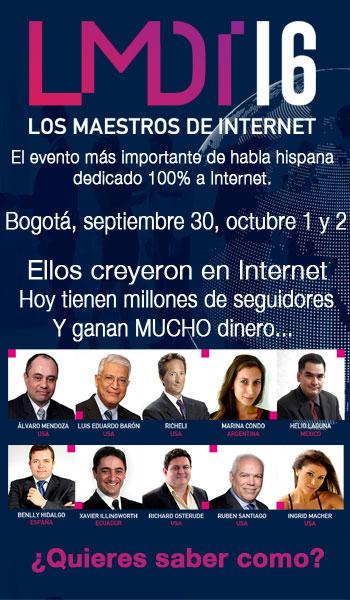 Maestros de Internet 2016