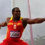 Frank Casañas, de 37 años y nacionalizado español desde 2008. Fue eliminado en la ronda clasificatoria y quedó ubicado en el puesto 25.