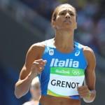 Libania Grenot, de 33 años, representa a Italia desde 2008. Entró octava en la final de los 400 metros, con registro de 51.25 segundos.