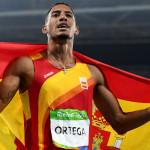 Orlando Ortega, de 25 años, El vallista se nacionalizó español en 2015 y ganó medalla de plata en 100 metros con vallas para España.