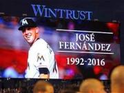 Programa de honras fúnebres a José Fernández en Miami