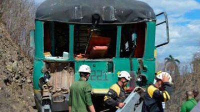 Bajo arresto tripulación implicada en accidente ferroviario en Sancti Spíritus