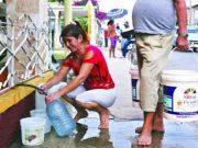 Cuba: Solo 5.7 % de la población cuenta con servicio de agua las 24 horas