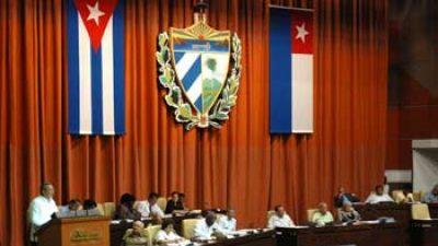 Parlamento cubano sesionará el 14 de julio