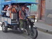 Holguín se convertirá en capital de motos triciclos para transporte público