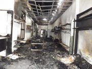 Incendio de grandes proporciones en centro histórico de Pinar del Río