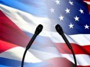 Cuba conversa con EEUU y protesta por discurso de Trump en Naciones Unidas