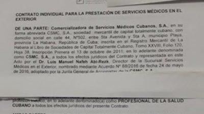 Cuba endurece reglas y recorta beneficios a médicos en Brasil