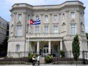 EEUU pedirá salida del 60 % de diplomáticos cubanos de la Embajada en Washington